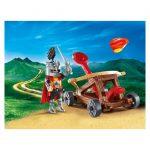 Βαλιτσάκι Ιππότης με καταπέλτη 9106 Playmobil-β