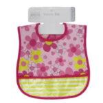 Σαλιάρα πλαστική για κορίτσι S811 Nursery Time-pink