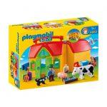 Σειρά 1-2-3 Φάρμα-Βαλιτσάκι 6962 Playmobil