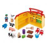 Σειρά 1-2-3 Φάρμα-Βαλιτσάκι 6962 Playmobil-d