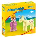 Σειρά 1.2.3 Πριγκίπισσα με μονόκερο 1,5 ετών+ 70127 Playmobil