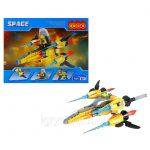 4-e401 Space Spacecraft Toy Building Block Set – 164 Pieces