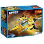 4401 Space Spacecraft Toy Building Block Set – 164 Pieces