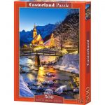 500 PIECES Night in Ramsau Germany Product Code B-53063