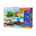 Agricultural Machines-4×Puzzle 8+12+15+20
