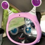 BEN BAT-interactive mirror by car-PINK-c