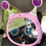 BEN BAT-interactive mirror by car-PINK-c