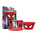 CHARACTER STACKING MEAL SET SPIDERMAN-c