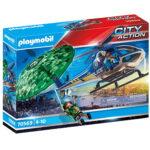 City Action-Εναέρια αστυνομική καταδίωξη Κωδικός 70569 Playmobil