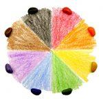 Crayon Rocks, 8 χρώματα σε λευκό βαμβακερό πουγκί-c