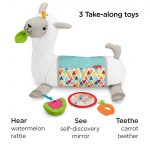 Fisher-Price Grow-with-Me Tummy Time Llama-11