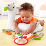 Fisher-Price Grow-with-Me Tummy Time Llama-4