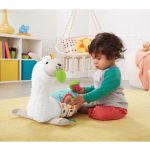 Fisher-Price Grow-with-Me Tummy Time Llama-5