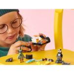 Lego Ninjago Cole's Speeder Car 71706-h