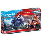 Police Action Αστυνομική καταδίωξη μηχανών 6 ετών+ 70462 Playmobil