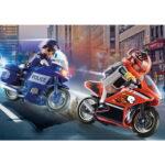 Police Action Αστυνομική καταδίωξη μηχανών 6 ετών+ 70462 Playmobil-2