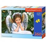 Puzzle Portrait of an angel Castorland