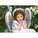Puzzle Portrait of an angel Castorland-2