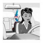 Αμβλυγώνιος Καθρέφτης για Παρακολούθηση του Πίσω Καθίσματος 8601 Reer3