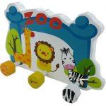 Ξύλινη Κρεμάστρα Zoo 4817 Classic World