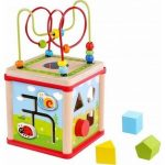 Ξύλινος Κύβος Κήπος Πολλαπλών Δραστηριοτήτων TKF007 Tooky Toy