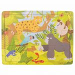 Παζλ 9 τεμαχίων Ζώα της Ζούγκλας 2 ετών κι άνω BJ222 Big-Jigs Toys