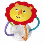 Στριφογυριστρούλι Κουδουνίστρα-Μαγνήτης Λιοντάρι 3+ μηνών FVF43 Fisher Price