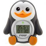 2 σε 1 Ψηφιακό Θερμόμετρο για το Μπάνιο και το Δωμάτιο Πιγκουίνος 24041 Reer