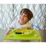 Ezpz Δίσκος και πιάτο σε ένα Happy-4