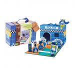 Foldable Police station 13 pieces