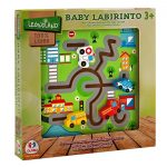Globo Wooden Puzzle Labyrinth-cars