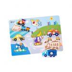Traffic Puzzle 3611