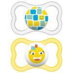 Πιπίλα Air Σιλικόνης 16+ μηνών-yellow