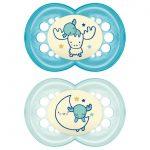 Πιπίλα Night Σιλικόνης 6-16 μηνών-blue1-1