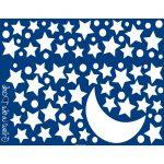 Φωσφορούχα Αυτοκόλλητα Starry Night Large 18109 Home Decor-3