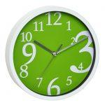 16814-wall-clock-wanduhr-green
