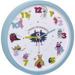Children's Wall Clock LITTLE ANIMALS LITTLE MONSTERS