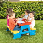 Dolu Baby Toy Picnic Table-3