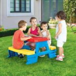 Dolu Baby Toy Picnic Table-4