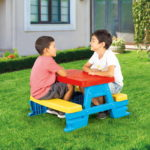 Dolu Baby Toy Picnic Table-5