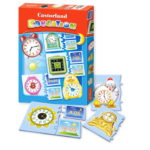Educational puzzle clock which time E-067 CA0029-2