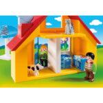 Σειρά 1.2.3 Εξοχικό Σπίτι με βάρκα & αυτοκίνητο 1,5 ετών+ 9527 Playmobil-3