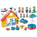 Σειρά 1.2.3 Εξοχικό Σπίτι με βάρκα & αυτοκίνητο 1,5 ετών+ 9527 Playmobil-6