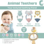 CHEEKY TEETHER DARCY THE ELEPHANT [#88566]-6