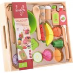 Saladset in wooden tray-80069-8