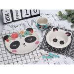 Παιδικό σέτ 5 τεμ. Μπαμπού Panda – bamboo Ani Set Panda – Space Cow