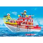 City Action Πυροσβεστικό Σκάφος Διάσωση 70147 Playmobil-2