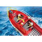 City Action Πυροσβεστικό Σκάφος Διάσωση 70147 Playmobil-3