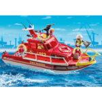 City Action Πυροσβεστικό Σκάφος Διάσωση 70147 Playmobil-4