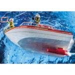 City Action Πυροσβεστικό Σκάφος Διάσωση 70147 Playmobil-5
